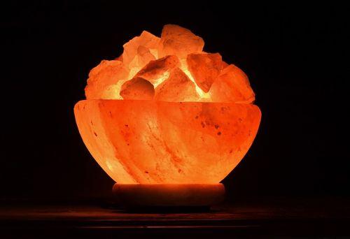 مصابيح الملح الصخري هل تصدر أيونات سالبة مفيدة للصحة ؟