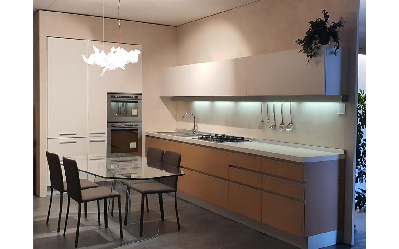 Cucina expo Alea, vista diagonale