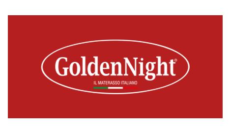 GoldenNight logo rosso