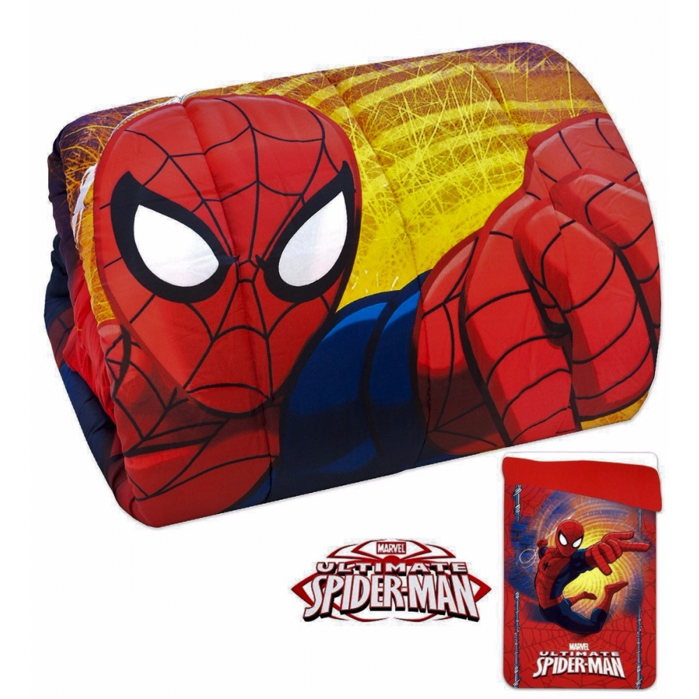 Trapunta spiderman singola piumone uomo ragno microfibra by marvel. Trapunta Letto Singolo Marvel Spider Man In Microfibra 180x260 Cm Ruocco Home