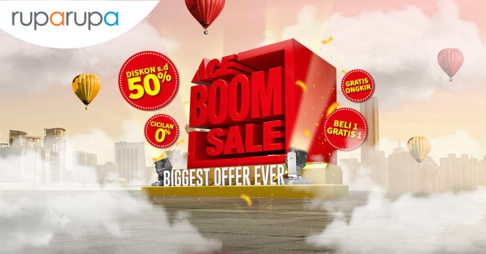 ACE Boom Sale: Online Shopping Guide