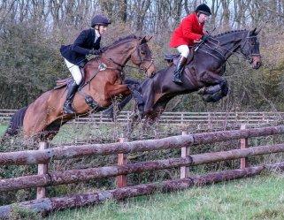 Rupert Gibson Photography 2019 Equestrian - zoe and richard jumping 2