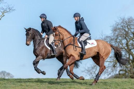 Rupert Gibson Photography Equestrian 2019 -Alex Tordoff and Lisa Freckingham
