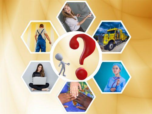 Different occupations in need of IELTS scores