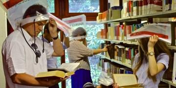Wassereinbrüche soll es in der Bibliothek nicht mehr geben. Foto: Jin Jlussi