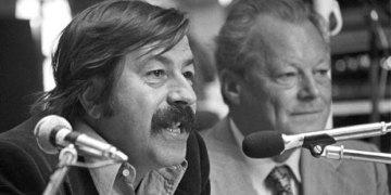 Günther Grass und Willy Brandt. Bild: ruprecht