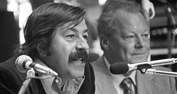 Günther Grass und Willy Brandt. Bild: ruprecht
