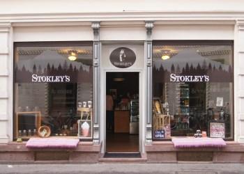 """Vormals Postfiliale, nun ein Café: Das """"Stokley's"""" in der Plöck. Bild: Margarete Over"""