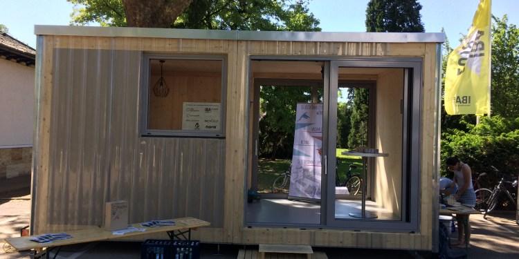 Das Holzmodell macht die Räume im geplanten Wohnheim des Collegium Academicum erlebbar. Bild: © Projektgruppe CA.