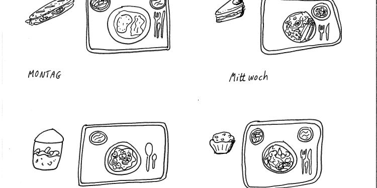 Ist die Auswahl in der eigenen Küche größer als in der Mensa? Bild: Bérènice Burdack