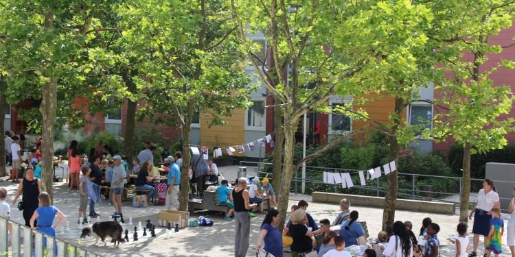 Beim Emmertsgrundfest kommen alle Bewohner ins Gespräch. Foto: Rositza Bertolo