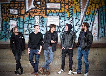 "Indie-Rock aus Wiesloch: Joel, Florian, Lars, Janis und Niklas sind ""Dequartier"". Foto: privat"