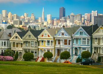 Diese Häuser in San Francisco sind ab zwei Millionen Dollar zu erwerben. Foto: Holger Link (Unsplash)