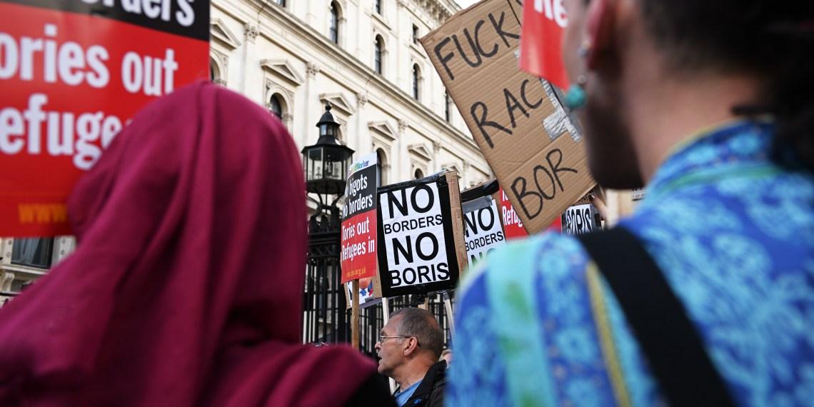 Bereits 2016 demonstrierten viele Liberale vor der Downing Street gegen Boris Johnson und den Brexit. Foto: Nicolaus Niebylski