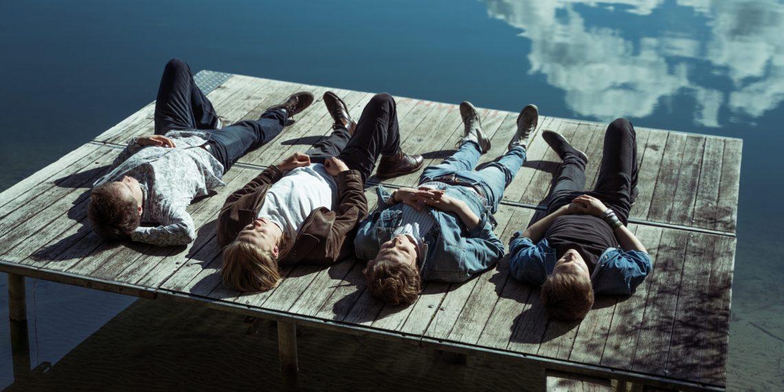 """Die Studierendenband Whitepaper veröffentlichte im letzten Jahr ihr Album """"Encaustic""""   Foto: Joy Dana"""