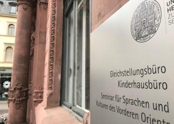 Das Gleichstellungsbüro der Uni in der Hauptstraße organisiert die neue Campuskampagne 2021. (Foto: Ulrike Bechtold)