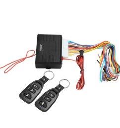 rupse universal car alarm remote control system central door lock locking keyless entry system [ 1001 x 1001 Pixel ]