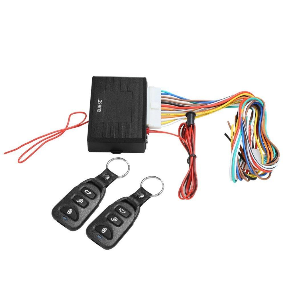 medium resolution of rupse universal car alarm remote control system central door lock locking keyless entry system