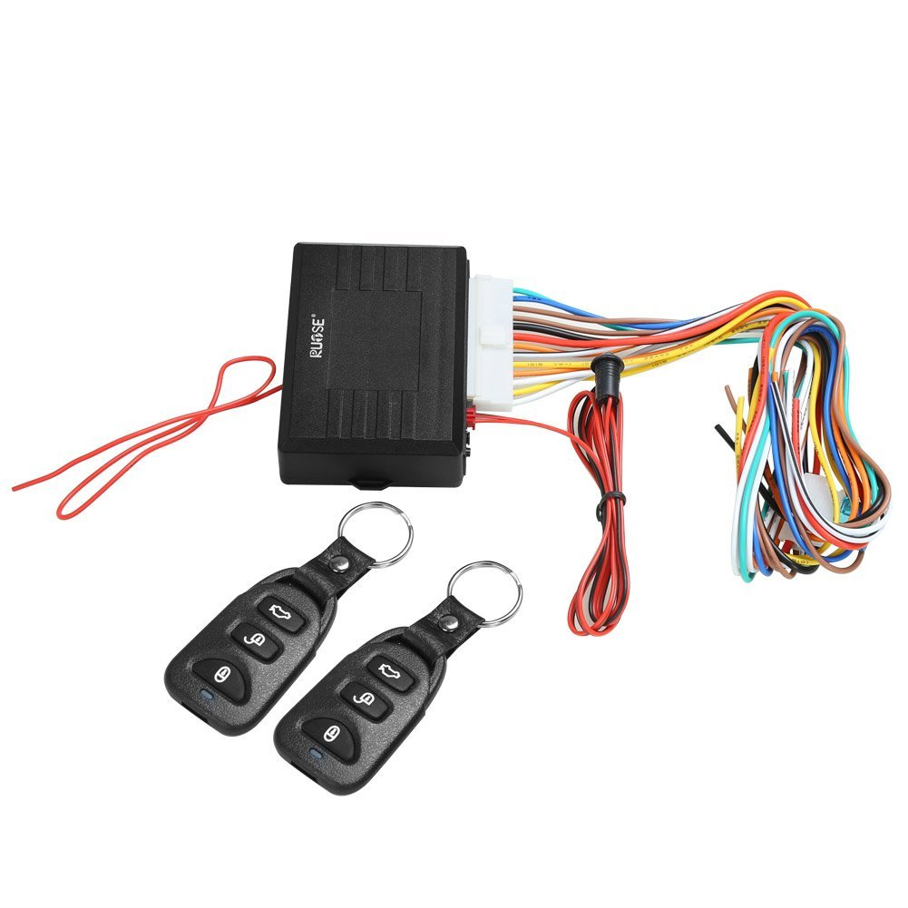 hight resolution of rupse universal car alarm remote control system central door lock locking keyless entry system