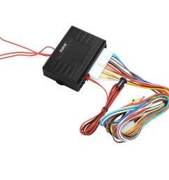 rupse universal car alarm remote control system central door lock locking keyless entry system rupse [ 1001 x 1001 Pixel ]