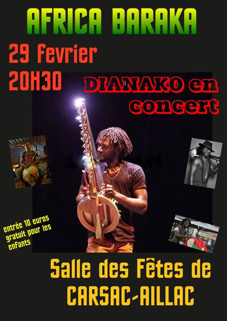 Concert de DIANAKO 🗓