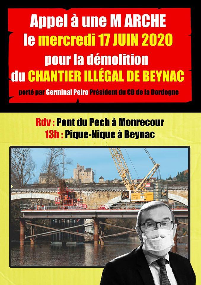 Marche à Beynac le 17 juin 🗓