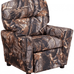Kid Recliner Chair Amish Wooden High Flash Furniture Contemporary Camouflage Fabric Kids W Cup Holder Bt 7950 Camo Gg
