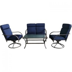 Patio Swivel Chair Seat Post Bushing Rocking Chairs Atlanta Deep Conversation 18 0298