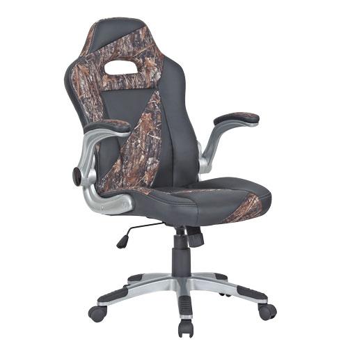 Big Mans Black  Camo Office Chair
