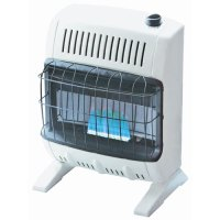 10,000 BTU Ventless Blue Flame Wall Heater