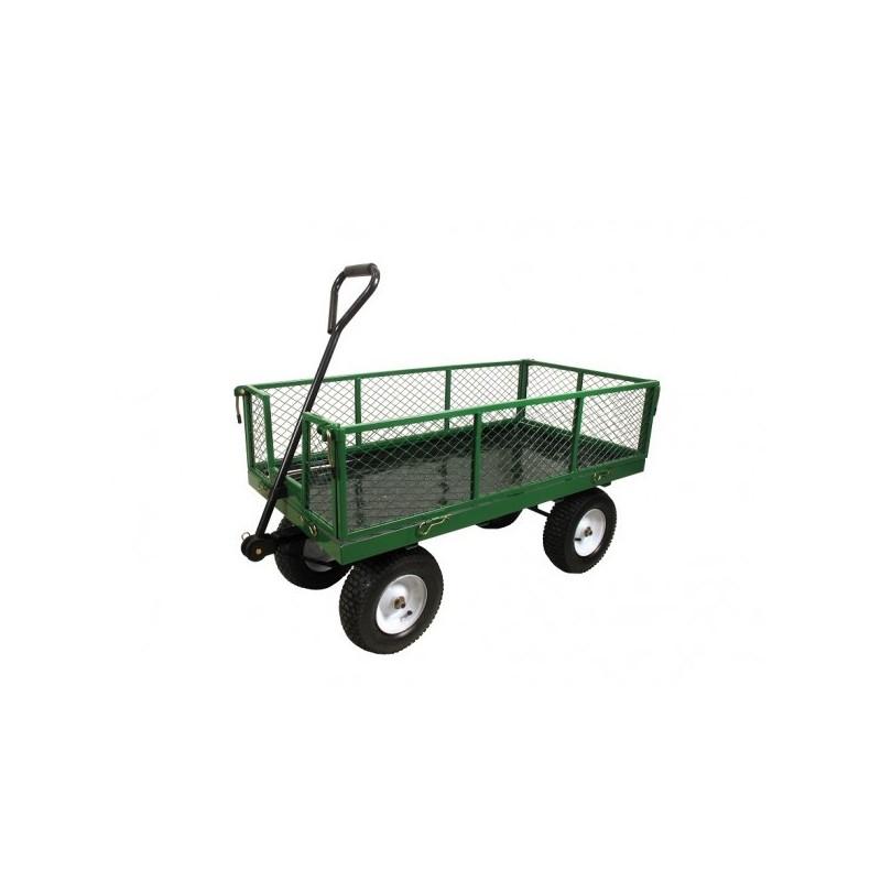 chariot de jardin grillagee 4 roues