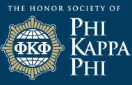 Wichita: Schrader  Initiated into Honor Society of Phi Kappa Phi
