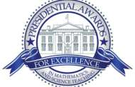 Middle School Teacher presented with Presidential Award of Excellence in Mathematics and Science
