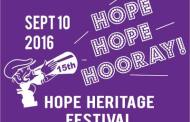 Hope Heritage Festival Scheduled