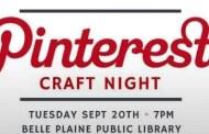 Pinterest Craft Night Event