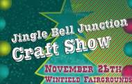 Winfield: Jingle Bell Junction Craft Show Event scheduled for Nov 26