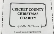 Cricket County Christmas Charity Comedy presented by Plainview Mennonite Church on Nov 17-19