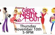 Pleasant View: Girls Night Out at Stutzmans Greenhouse on Nov 10