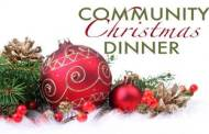 McPherson Community Building will hold its Christmas Dinner on Dec 25th