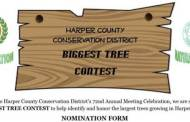 Anthony: The Harper County Conservation District will hold a Biggest Tree Contest on Feb 1