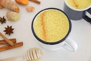 Turmeric Colada Latte