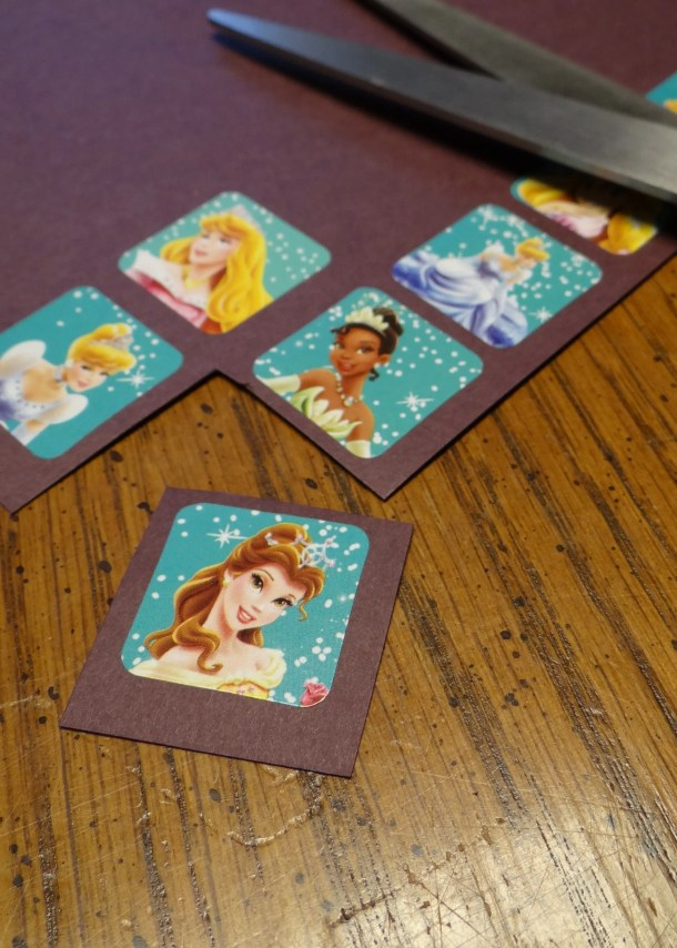 Disney Princess Magnet Craft