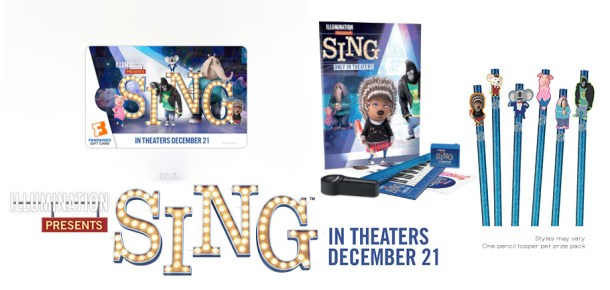 SING! Coloring and Activity Sheets (and a Giveaway!) #SingMovie