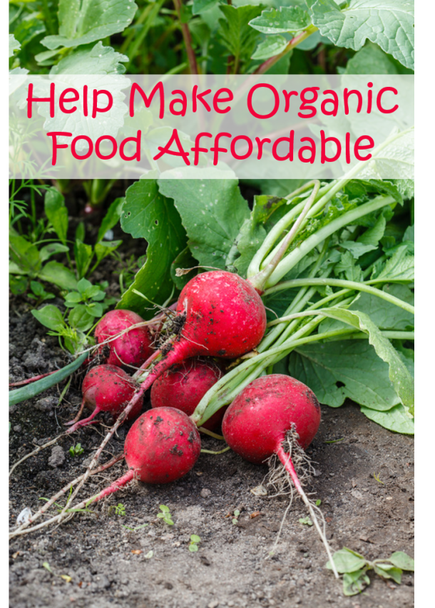 Would You Like to Help Make Organic Food More Affordable? #GROorganic #ad