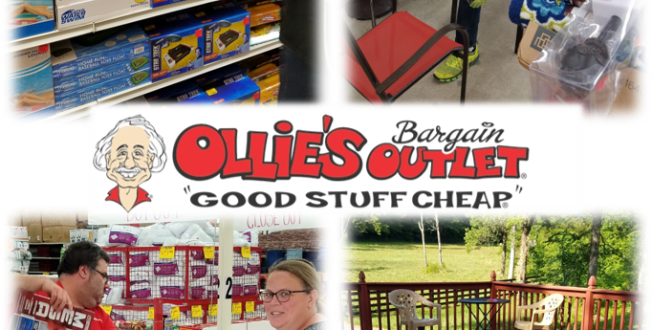 Rural Moms Love Getting Good Stuff Cheap at Ollie's Bargain Outlet (Giveaway!)