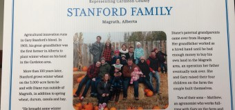 Magrath area farmer puts family and agriculture first in growing industry internationally