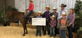 Veronica Swales takes top spot in Working Cow Horse – Open Bridle at Calgary Stampede