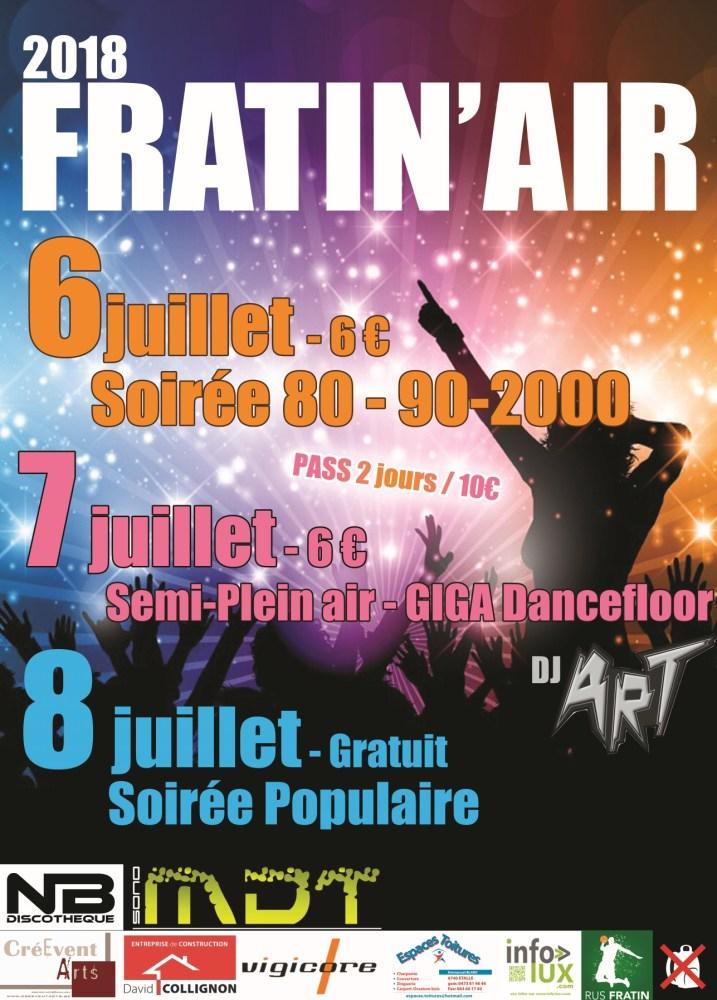 Fratin'Air 2018