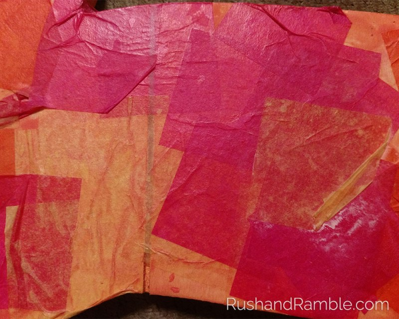 Easter Crafts - Tissue Paper Rabbit | Rush & Ramble