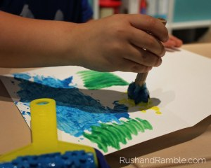 Painting Butterflies | Milkweed, Monarchs and Masterpieces: The Tale of a Preschooler and His Butterfly Garden